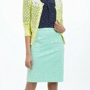Anthropologie Moulinette Soeurs Skirt Mint Green